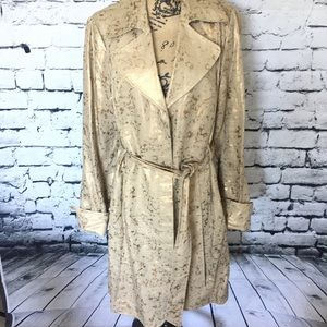 Dana Buchman Trench Coat - nwot